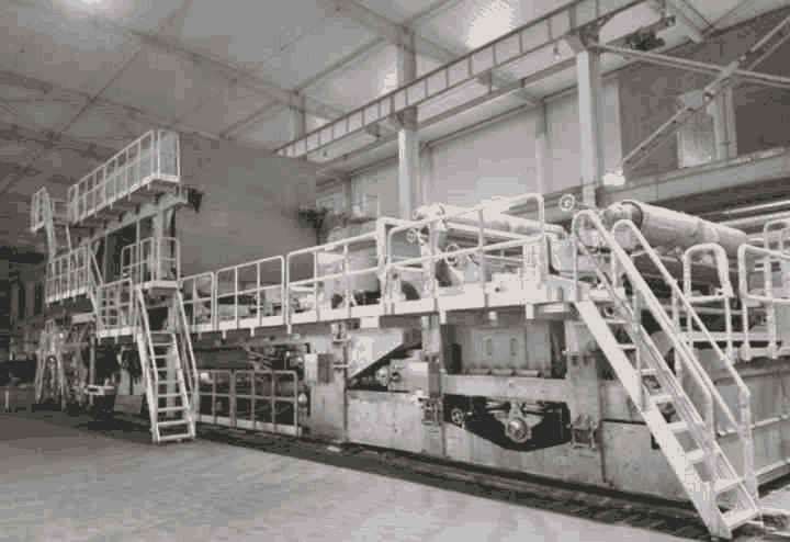 2850-700 Crescent Tissue Machine