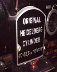 Cylinder For Die Cutting