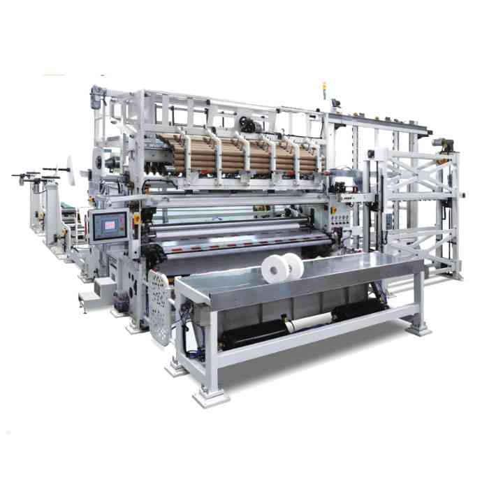 Industrial Roll Slitter Rewinder