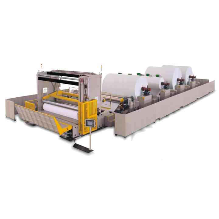 1200mpm High Speed Slitting Rewinder