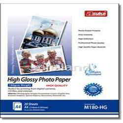 180G Inkjet High Glossy Photo Paper