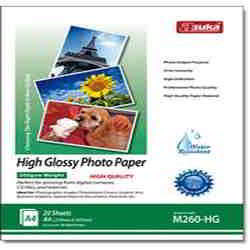 260G Inkjet High Glossy Photo Paper