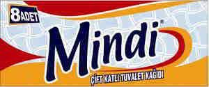 Mindi 8 roll Bath Tissue,2ply,white