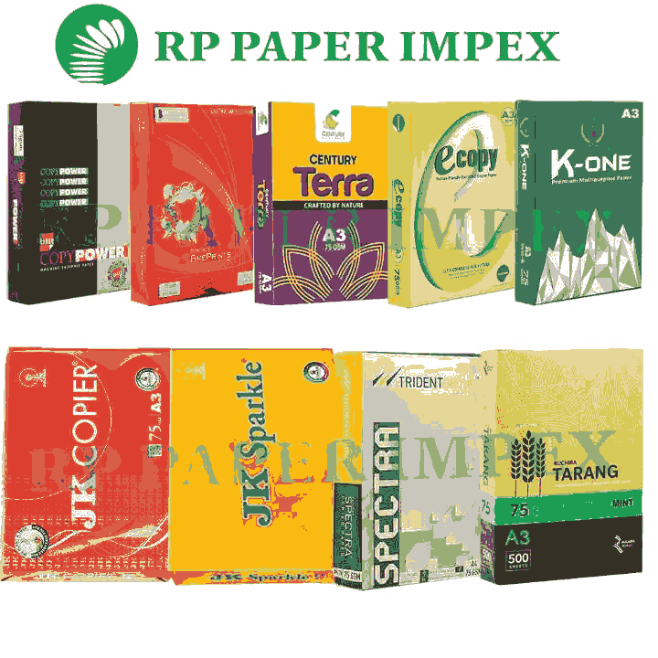 A3 70 GSM Copy Paper, High Brightness, Photostat Copier