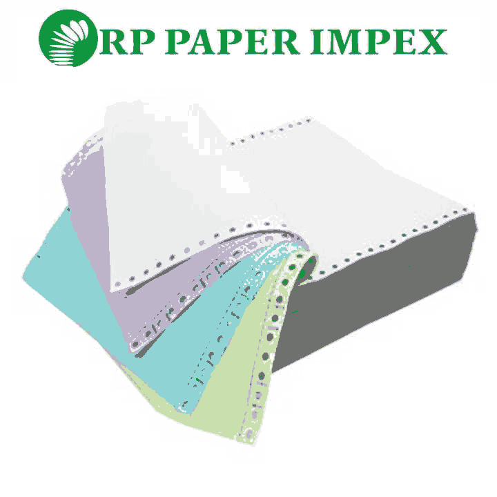 4 Four Ply Pre Printed Continuous Computer Paper Form