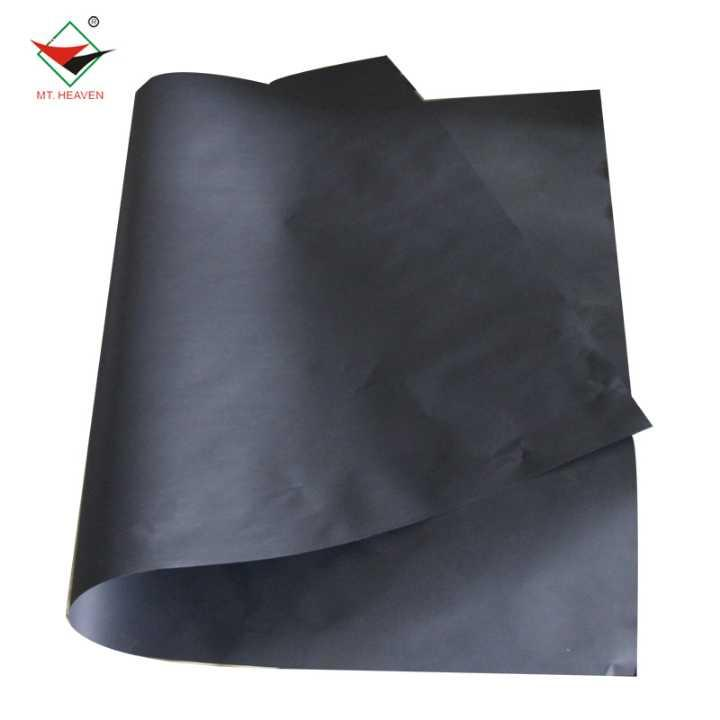 Eco Friendly Uncoated Laminated Black Cardboard