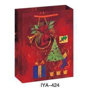 Christmas & New Year Printed Paper Bags