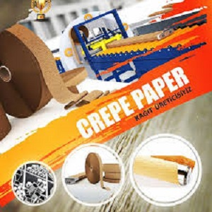 Crepe, Pleating Paper, Kraft Paper, Digital Printing Paper