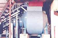 Pulper with belt Conveyor