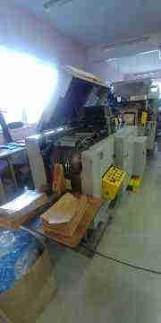 Used Flat/Satchel Bag Making Machine with Print /Window Unit
