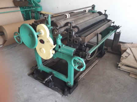 Used Flat/Satchel Bag Making Machine with 2-Color Printer