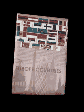 Europe Country Flags Gift Wrapping Papers