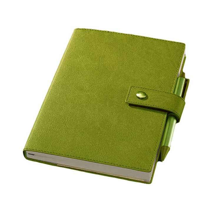 Eco Friendly PU Leather A6 Notebooks