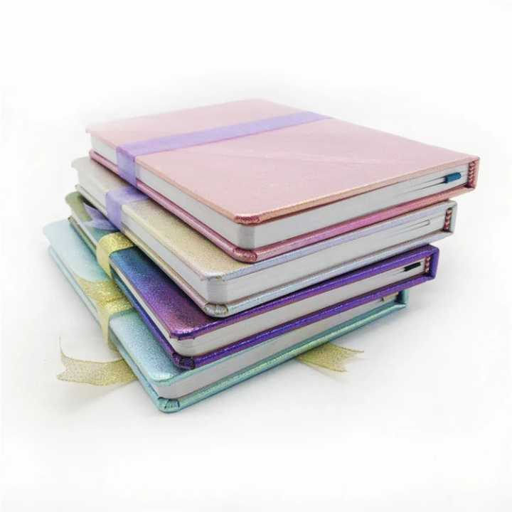Magic Color Cover A5 Colorful Leather Notebooks