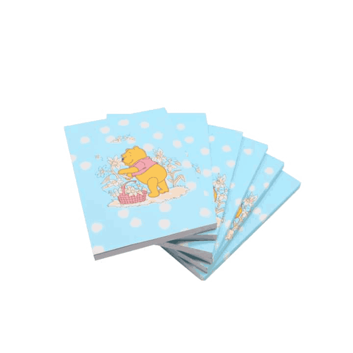 Customised Promotional Printed Cute Cartoon Notebooks