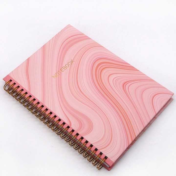 Plastic Spiral Coil Binding Notebooks