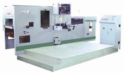 Automatic Foil Stamping & Diecutting Mac