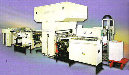 Automatic Water Base OPP Film Laminating