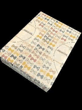 World Map Wrapping Paper With Beautiful Bows