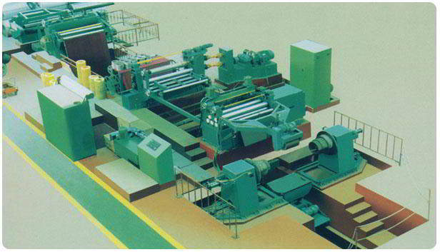 High Speed Uncoiling-Slitting-Recoiling