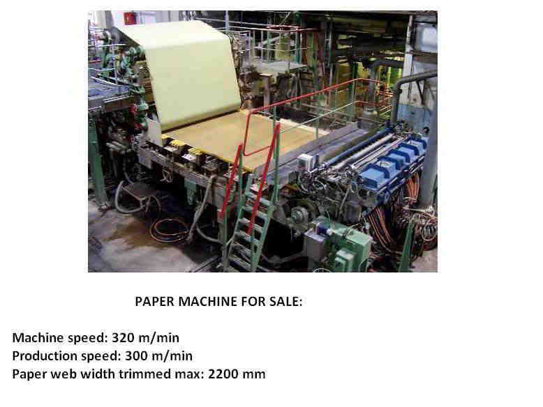 Complete Paper Making Machine