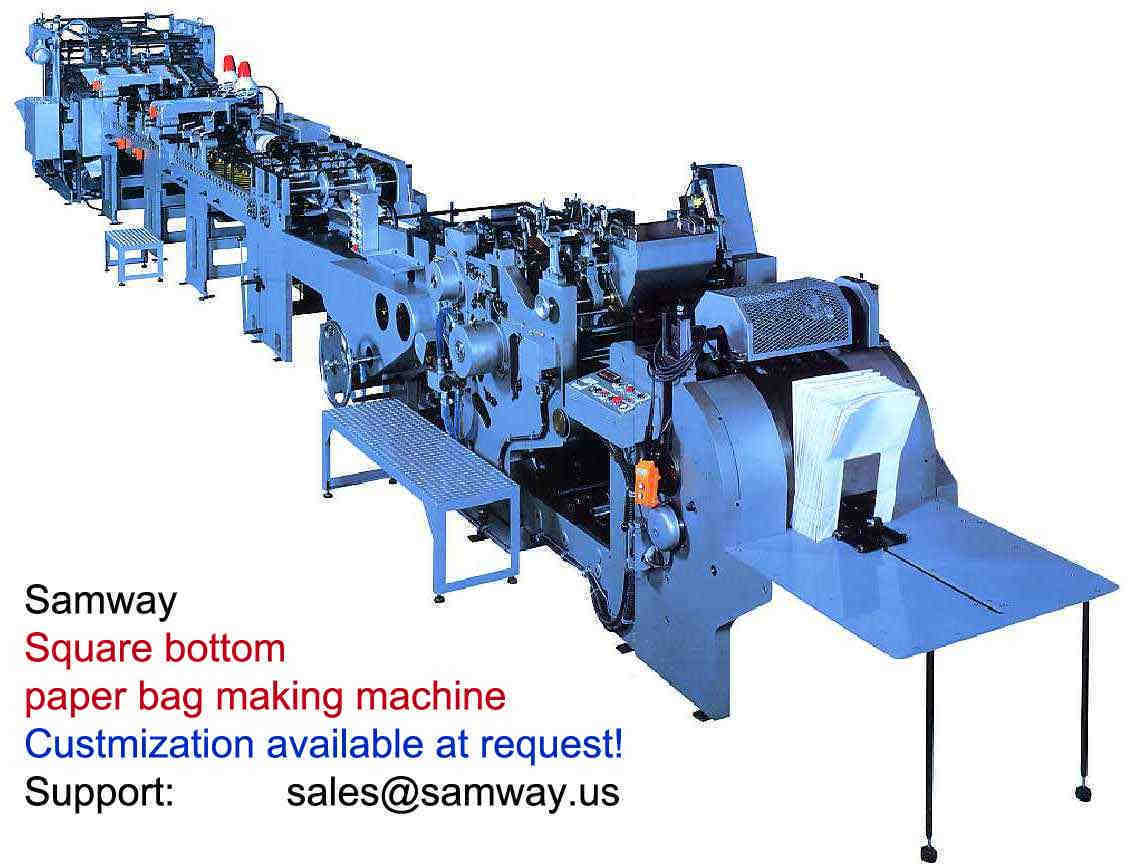 Samway Paper Bag Machinery