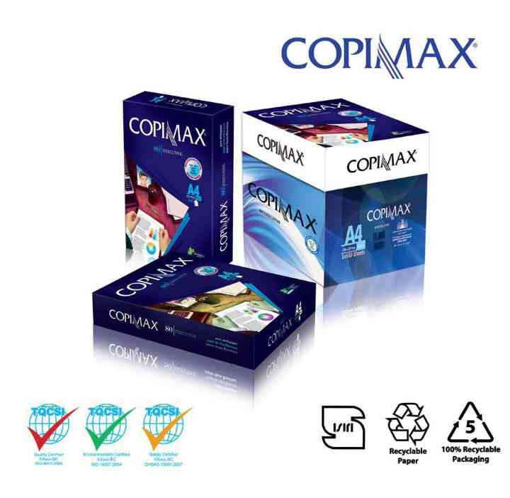 Copy Paper A4 70 / 80 GSM COPIMAX