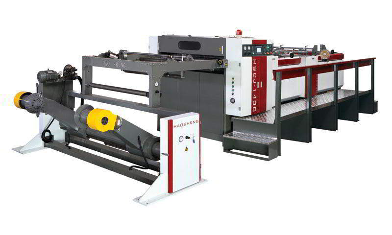 Economy Hob Type Paper Sheeting Machine