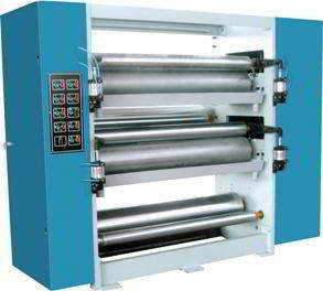 GA-240D Double Layer Glue Machine