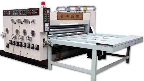 printing and slotting machine