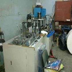 Paper Cup Making M/C and Auto. Paper/Board Cutting M/C