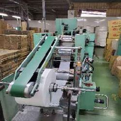 Vertical Rotary Paper Napkin Folding Machine (Used)