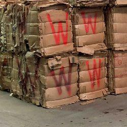 Wax Coated  Corrugated Cardboard (OCC) Clean