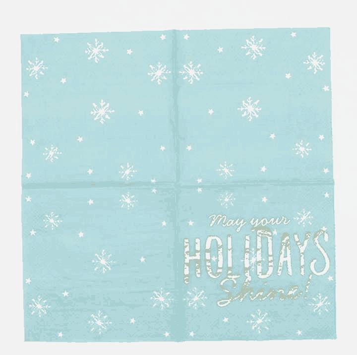 Color Paper Napkin Serviettes for Party