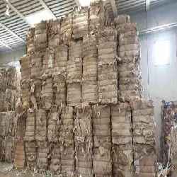 Cardboard Waste 100% Clean