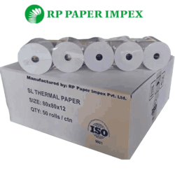 BPA-free Thermal Paper POS Rolls Customised Size & Printing