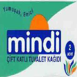 Mindi 2 roll Bath Tissue, 2ply, white