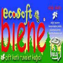 Biene 8 roll Bath Tissue, 2ply, recycled