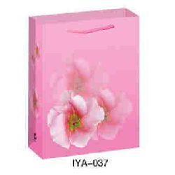 Flower Fruit Paper Bags - Rose Color