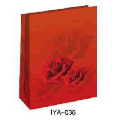 Flower Fruit Paper Bags - Red Color