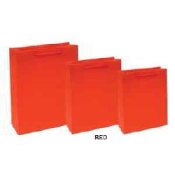 Shopping Paper Bags - Red Color