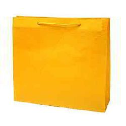 Shopping Paper Bags - Yellow Color