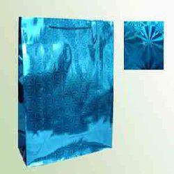 Laser Paper Bags - Blue Color