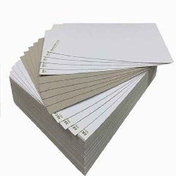 Duplex Board Grey / White Back