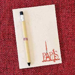 Designer Notepads Made with Handmade Paper