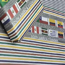 South America Country Flags Gift Wrapping Paper