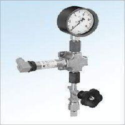 Electronic Pressure Gauge Station