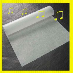 White Glassine Paper