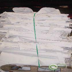 White Shavings Waste Paper