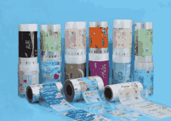Customized Facial Tissue Paper Packaging Film